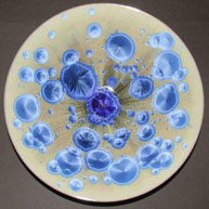 Crystalline Glazed Dish by Simon Rich