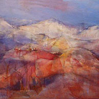 Towards Snowy Mountains by Elizabeth Haines