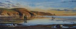 Andrew Bailey - Newgale Evening Light