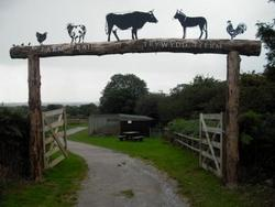 Robert Jakes - Farm entrance, Margam Park