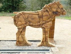 Robert Jakes - Horse, Brecon Canal