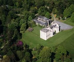 Picton Castle - Aerial View