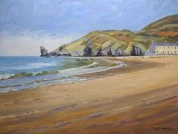 Chris Chalk - Llangrannog Beach