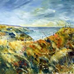 Pauline Beynon - Along Coast Path