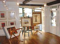 Pembrokeshire Art and Framing gallery - Interior